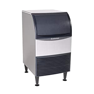Scotsman UN1520A-1 20-Inch Air-Cooled Nugget Undercounter Ice Maker Machine with 57 lb. Storage Capacity, 167 lbs/Day, 115v, NSF