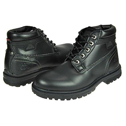 Black schwarz Boots Schwarz 4 Kappa Dakota qgxa7z