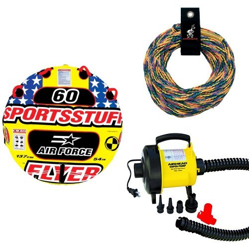 Sportsstuff  Air Force Rope and Pump Bundle (Air Force Towable)