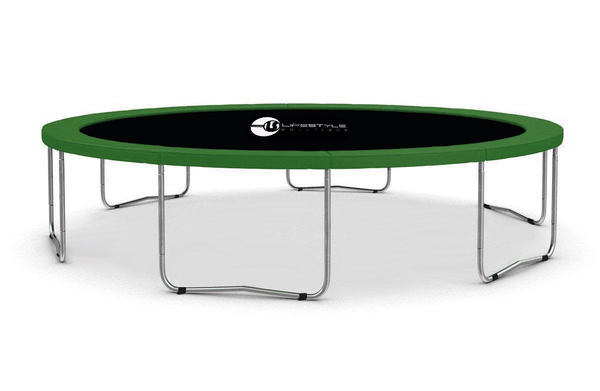 LS-370-G LifeStyle ProAktiv Garten- Trampolin 370cm - 12ft - 180kg Traglast - Neu