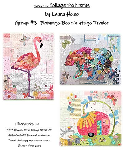 - Teeny Tiny Collage Group 3 Sewing Pattern by Laura Heine