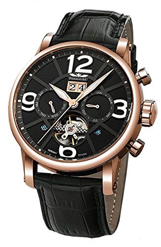Perigaum Automatic Men's Watch P-1111-Ir-S-Sle