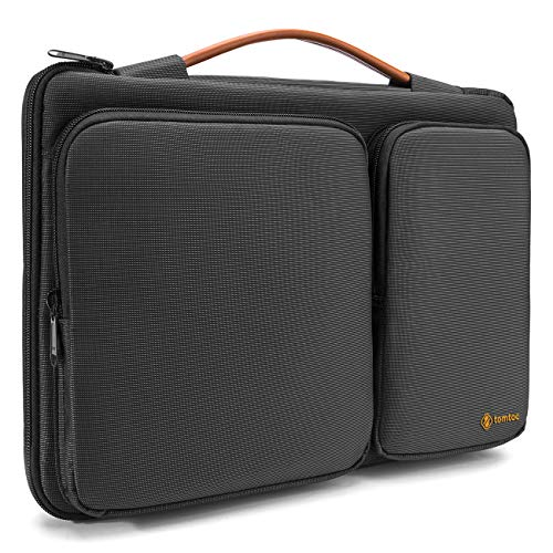 tomtoc 360° Protective Laptop Case Sleeve Bag Compatible with 15 - 15.6 Inch Acer Aspire E 15 and HP Dell Asus Thinkpad Notebooks Ultrabooks, Spill-Resistant, Support up to 15.2 x 10.4 In -
