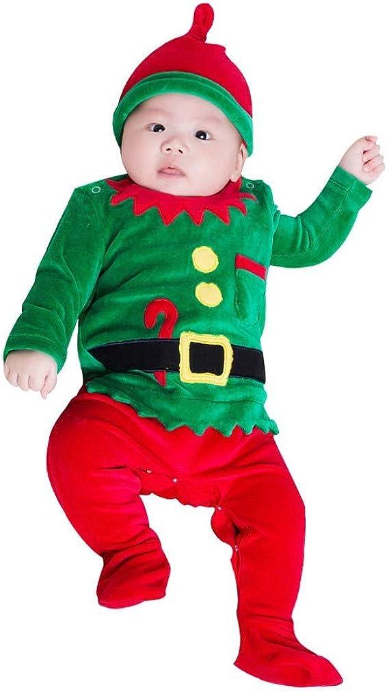 Infantil Disfraz Navidad Pijama Recien Nacido niña niño Bebe ...