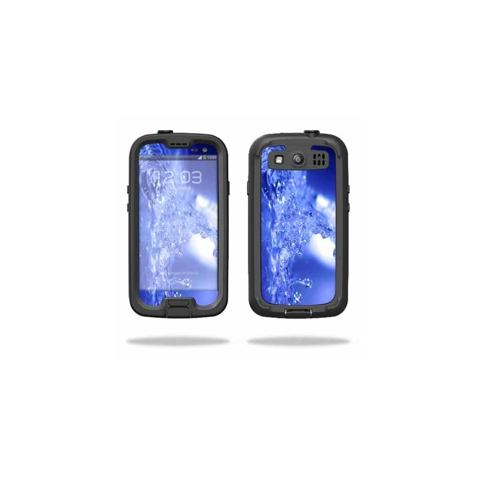 Mightyskins Protective Vinyl Skin Decal Cover for LifeProof Samsung Galaxy S III S3 Case fre wrap sticker skins Water Explosion