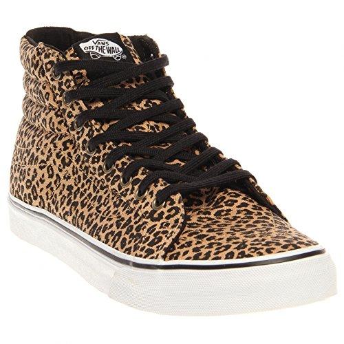 Vans Unisexe Sk8 Salut Slim Chaussures Léopard (chevrons) Chaussures De Skate Us Mens Taille 9.5 / Femmes 11