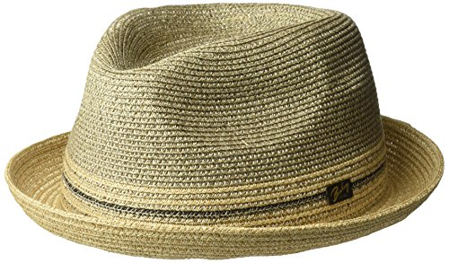 Bailey of Hollywood Mens Hooper Braided Fedora Trilby Hat