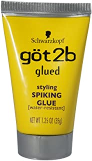 product image for Schwarzkopf got2b Glued Styling Spiking Glue 1.25 oz (Pack of 5)