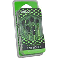 iVibe IV-MIC-NGR In-Ear Stereo Earphones with Microphone...