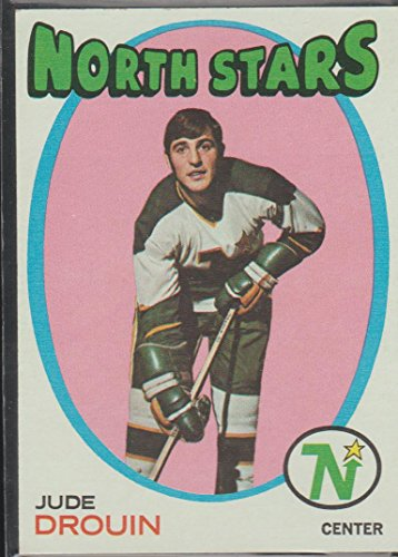 1971-72 Topps Jude Drouin North Stars Hockey Card #68 ()