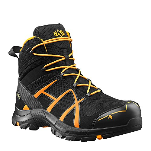 HAIX Herren Sicherheitsschuhe Black Eagle Safety 40 Mid black/orange orange, UK 6.0 / EU 39