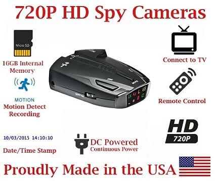 Amazon.com: SecureGuard HD 720p Vehicle Dash Cam Radar Detector Car Vehicle Spy Camera Covert Hidden Nanny Camera Spy Gadget: Everything Else