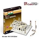 Cubicfun 3D Puzzle - Taj Mahal, Blue