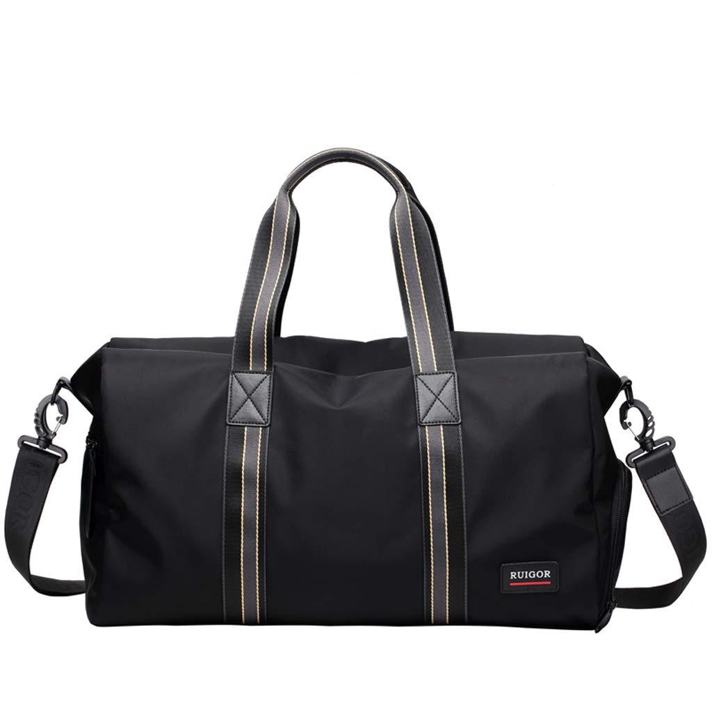 トラベルバッグ、男性と女性のトラベルバッグ、フィットネスバッグ、スポーツバッグ、手荷物バッグ、大容量 - L22 * 28 * 46センチメートル   B07KG8HCC4