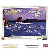 Cruel Seas Kriegsmarine S-Boat Flotilla 1:300 WWII Naval Military Wargaming Plastic Model Kit