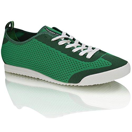 Neuve avec De Laçage Chaussures Léger marque élégant Tendance Vert Langue Baskets Hommes Cuir Ugwdzqg8