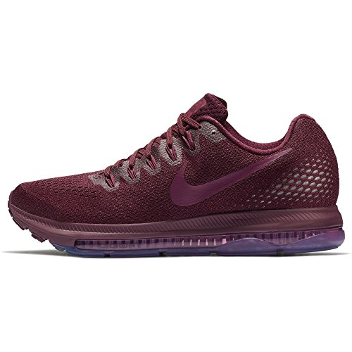 Nike Womens Zoom All Out Lage Sportschoen Bordeaux / Tea Berry-pure Platinum