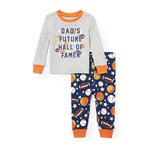 The Childrens Place Boys New 2-piece Cotton Pajama Set (pack Of 2)