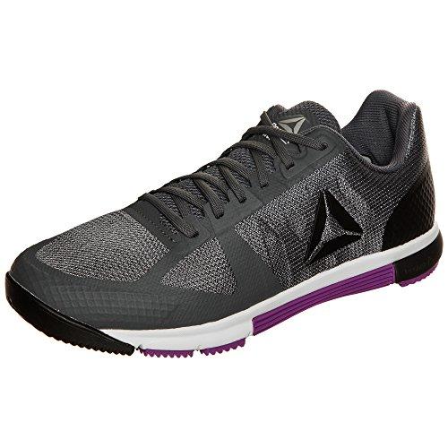 Reebok R Crossfit Speed Tr 2.0, Zapatillas de Gimnasia para Mujer Gris (Alloy / Black / Vicious Violet / White / Silver)