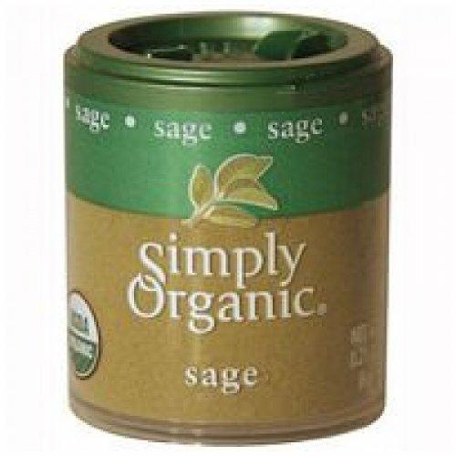 Simply Organic Ground Sage (Simply Organic Mini Sage Ground ( 6x.21 OZ))