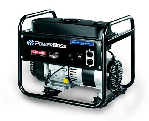 PowerBoss 30542, 1700 Running Watts/2000 Starting Watts, Gas Powered Portable Generator (Power Boss Portable Generator)