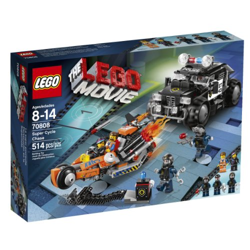 Police Car Lego Toy (LEGO Movie 70808 Super Cycle Chase)