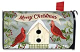 Briarwood Lane Christmas Cardinal Birdhouse Large Mailbox Cover Primitive Oversized