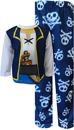 [Jake and the Never Land Pirates Toddler Costume Pajamas (2T)] (Jake And The Pirate Costumes)
