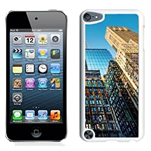 NEW Unique Custom Designed iPod Touch 5 Phone Case With New York Skyscrapers Glenmore_White Phone Case Kimberly Kurzendoerfer