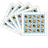 Coral Reefs Postcard 5 Sheets of 20 USPS First Class Forever Postcard Postage Stamps Sea (100 Stamps)