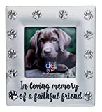 DEI 4.25'' x 4.5'' ''In Loving Memory'' Pet Photo Frame - Holds 2.5'' x 2.5'' Photo