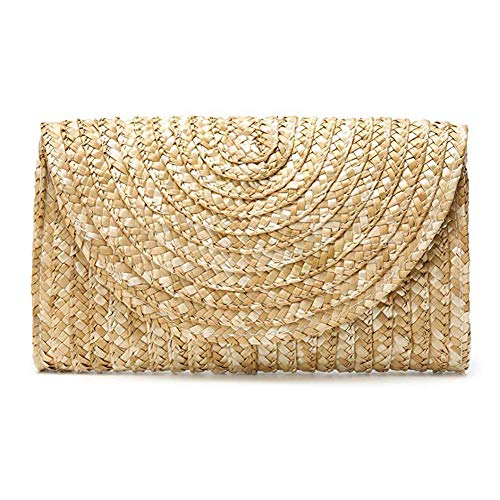 Women's Straw Clutch Purses...