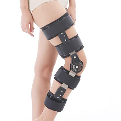 Health Care Personal Health Care Adjustable Knee Brace With Belt Bracket Fixed Knee Meniscus Ligament Fracture Of The Lower Extremities Soft And Light