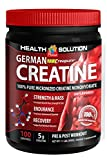 German Creapure Creatine 100% Pure Micronized Monohydrate Powder 500g (3 Can)