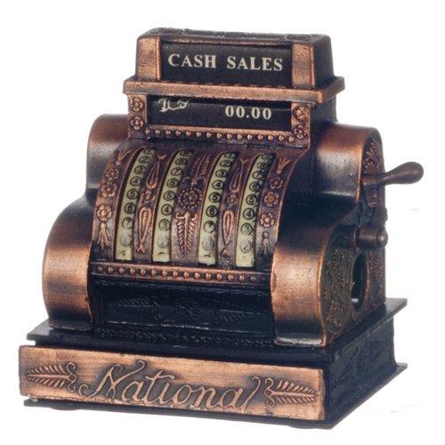 Miniature Antique (Dollhouse Miniature Cash Register,
