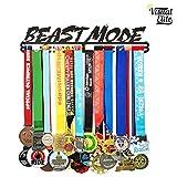 Visual Elite   Beast Mode (VE-786)   Medal Display Hanger   Hand-Forged Black Metal Hanger Design   The Medal Hangers Collection