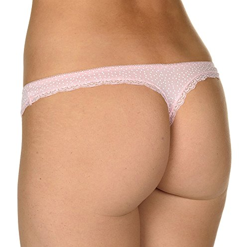 Velvet Kitten On Your Side Pretty Pink Thong Women s Panty No Show Thong  Underwear 5f6a73421