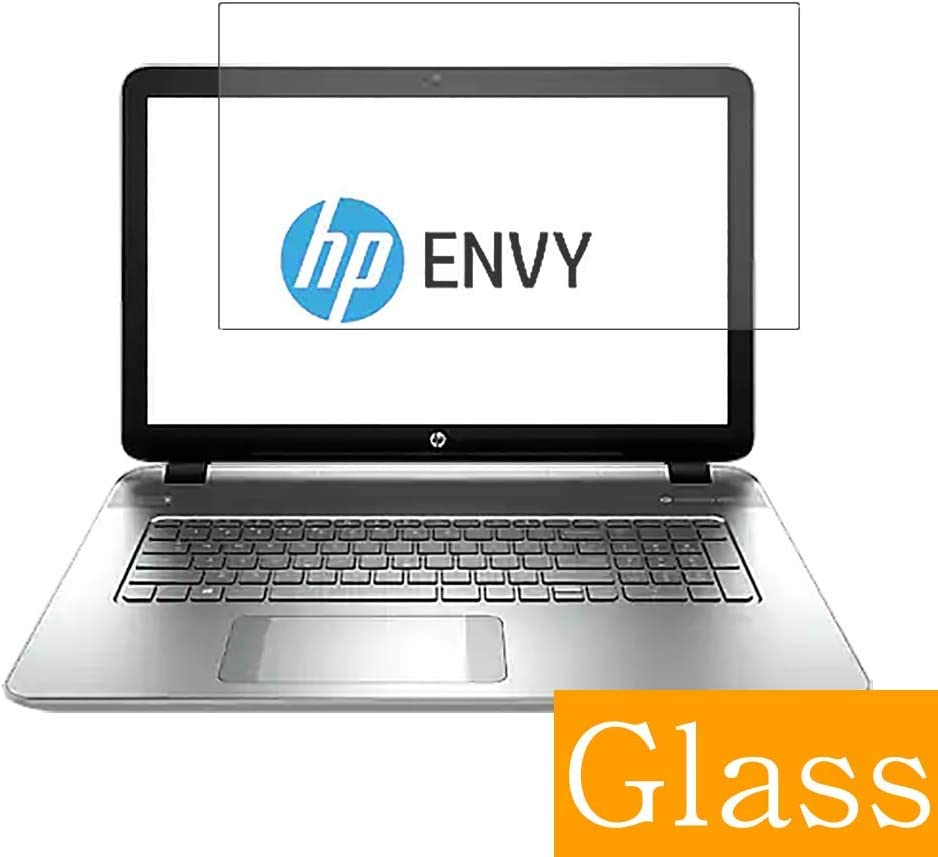 "Synvy Tempered Glass Screen Protector for HP Envy m7-k000 / k010dx 17.3"" Visible Area Protective Screen Film Protectors 9H Anti-Scratch Bubble Free"