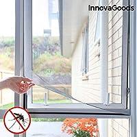 Innovagoods bb_V0100736 Mosquitera Adhesiva Para Ventana, Transparente