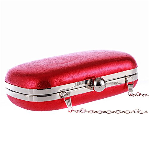 Weddings for Bags Bridal Clutch Kigurumi Womens Red Handbag Evening Purse qwayOaCI