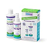 Littlebugs Lice Prevention Kit Shampoo & Repel Spray | Natural, Sulfate-Free, Neem & Spearmint Essential Oils | Highly Effective Non-Toxic Daily Repellent | Stay Head Lice Free!