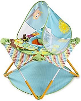 Summer Infant Pop N' Jump Portable Activity Center with Toys for On-The-Go