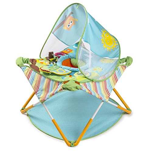 - Summer Infant Pop N' Jump Portable Activity Center