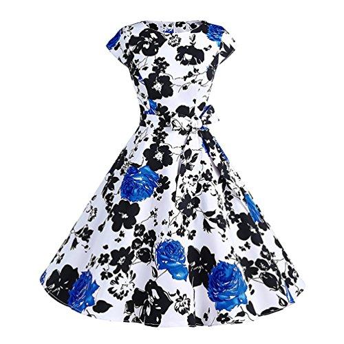 Mod Doll Costumes (Milada Women Classy Vintage Audrey Hepburn Style Doll Collar 1960 Mod Costume Xl)