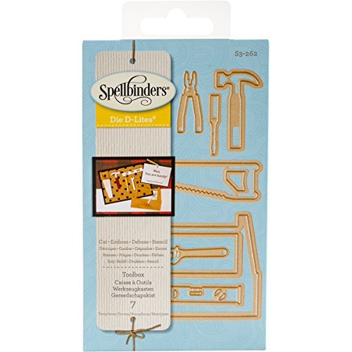Spellbinders S3-262 Die D-Lites Toolbox Etched/Wafer Thin Dies