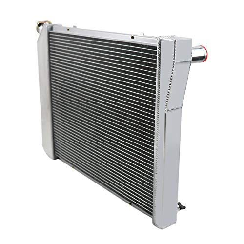 2 Row Aluminum Radiator for 1966-1977 1967 1968 69 Ford Bronco 2.8L-5.0L L6//V8