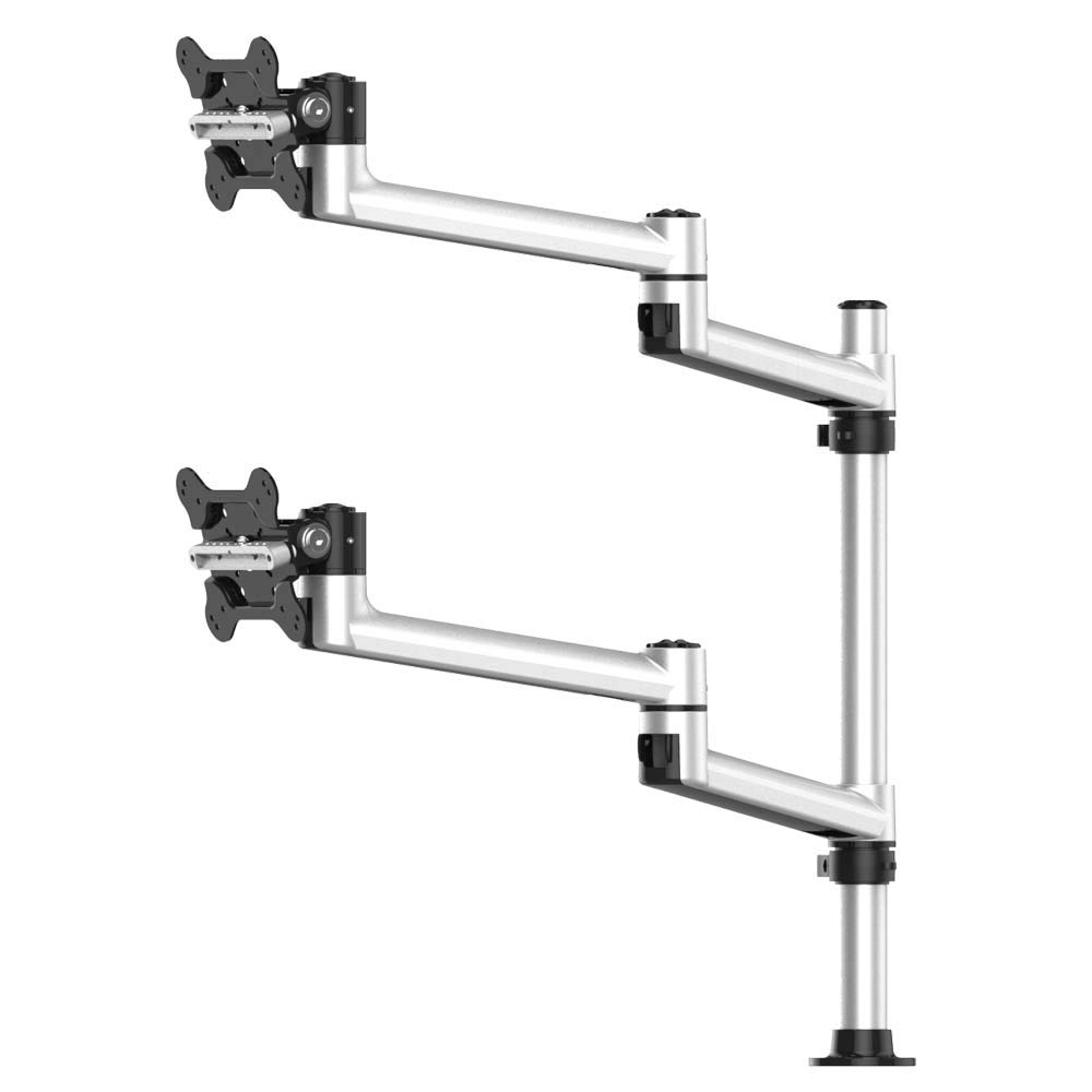 Cotytech Dual Track Rail Mount for Apple Top Down with Quick Release Dual Arm (BL-AT98)