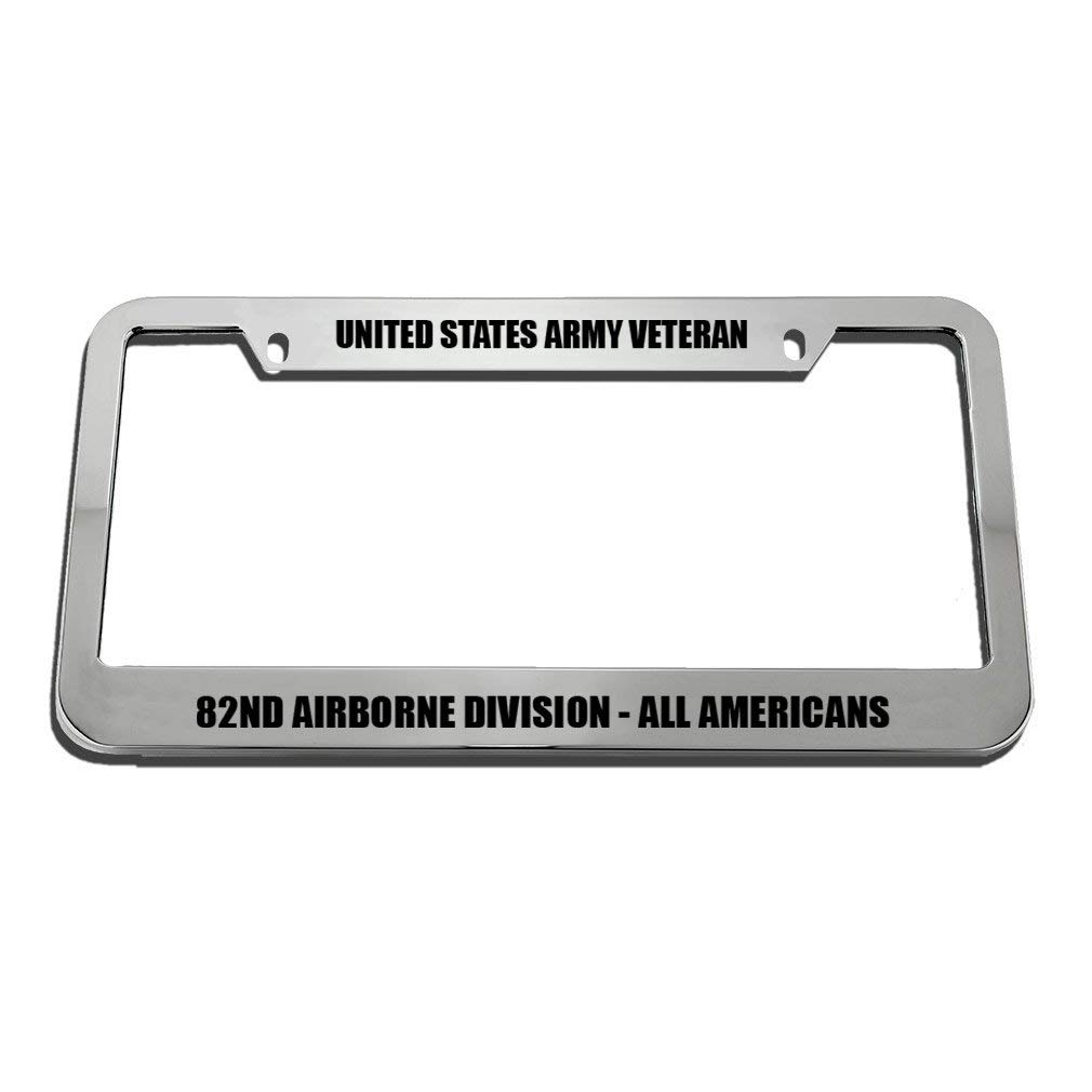 DIY Rine 12x 6 Aluminum Metal License Plate Frame Humor License Plate Frame Cover Holder Car Tag Frame 2 Hole Screws