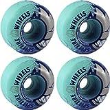 MYSTERY Skateboard Wheels VICTORY ORANGE SWIRL 51MM 99A