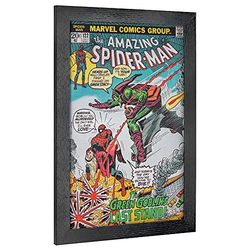 Officially Licensed Marvel Comics Amazing Spider-Man #122 Comic Book Cover Framed Wall Art (19